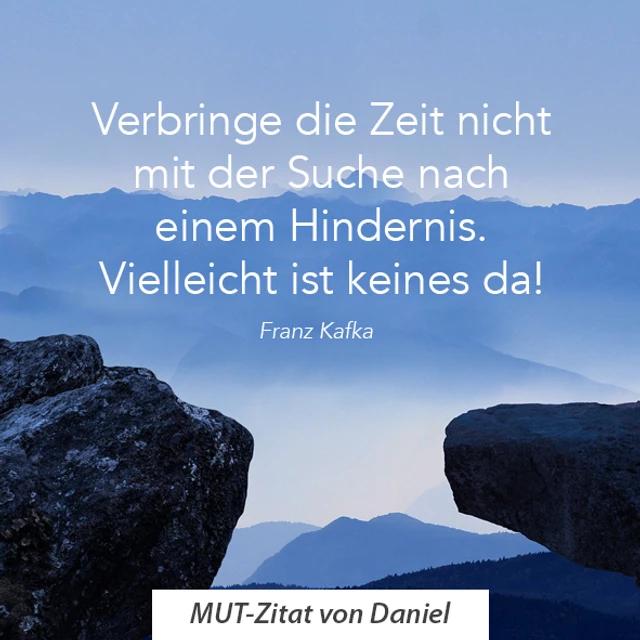Zitat von Daniel